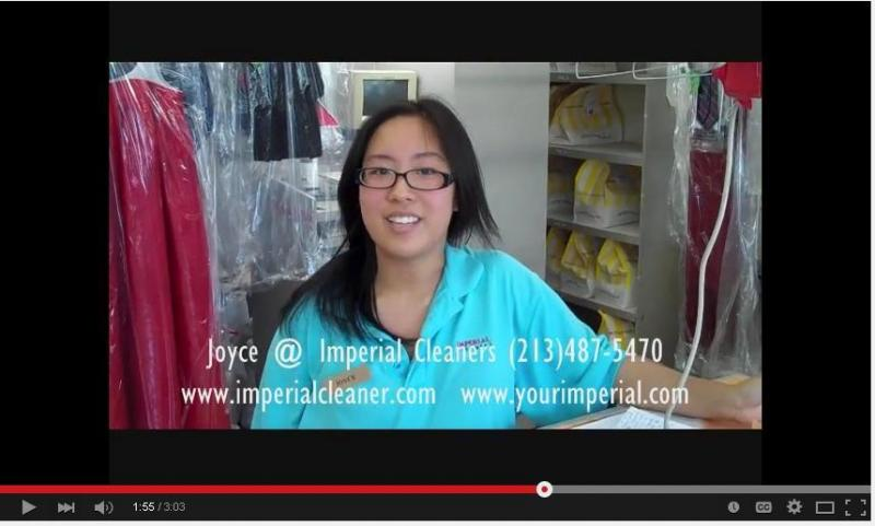 A Bag of FREE Gifts First time Customers at Imperial Cleaners L.A.